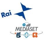 RAI-Mediaset logos