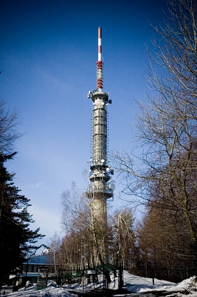 Polish TV transmitter