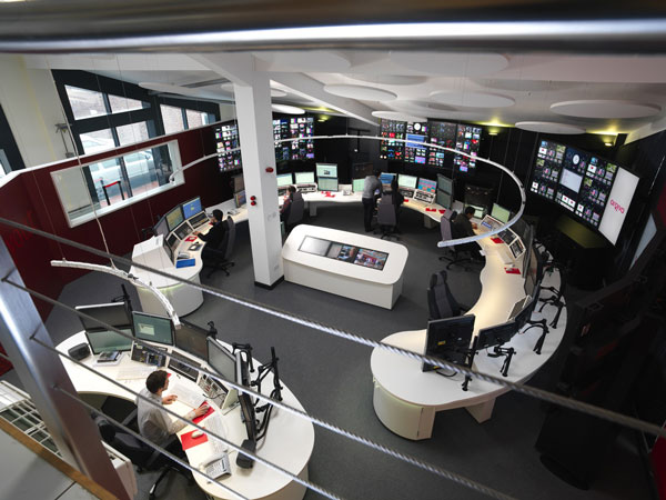 Arqiva European Playout Centre