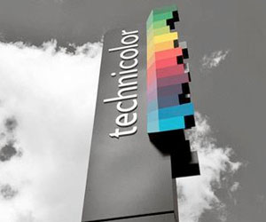 Technicolor sign