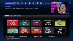 BBC iPlayer Oct 2012