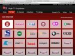 Virgin Media Live Channels
