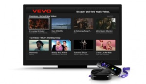 Vevo on Roku