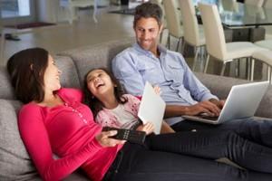 Family TV on iPad