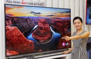 LG ultra HD 4K