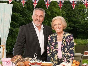 Great British Bake-Off (Paul Hollywood and Mary Berry)