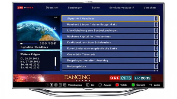 ORF-TVthek on Samsung