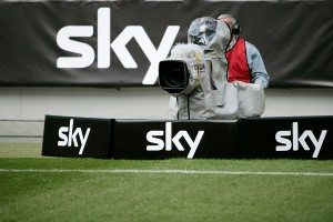 Sky Deutschland Camera at Football