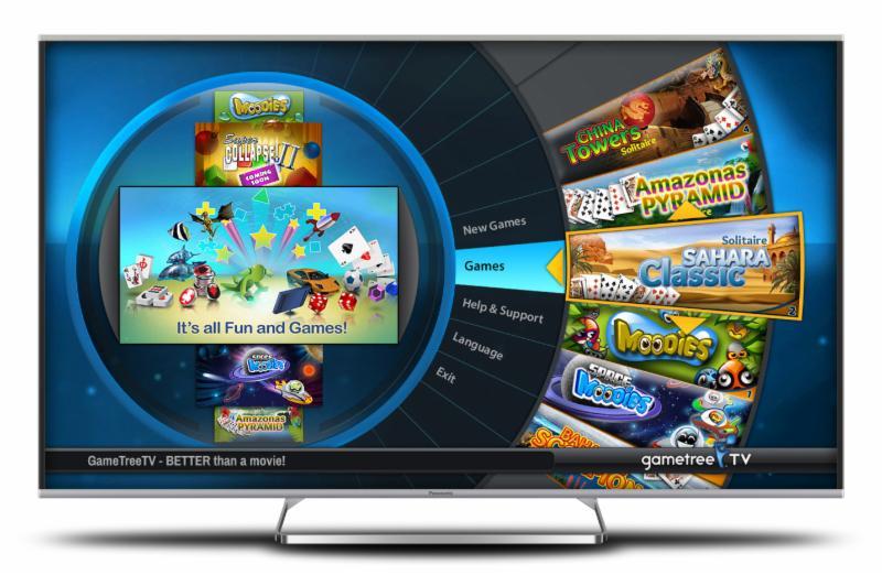 gametree tv comes to panasonic s viera tvs. Black Bedroom Furniture Sets. Home Design Ideas
