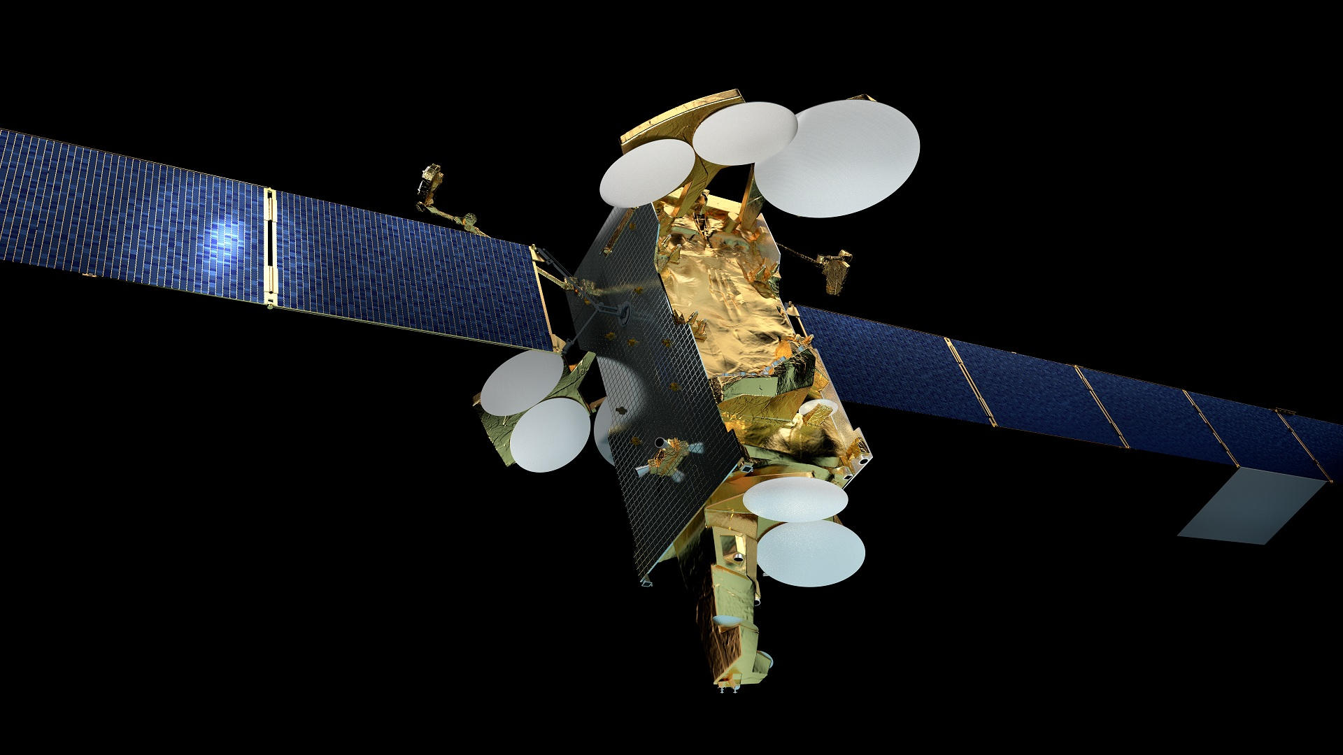 research articles in satellite communication devices