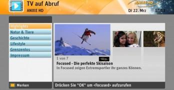 Kabel Deutschland Mediathek VOD Shop Anixe HD