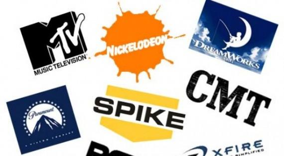 Viacom logos