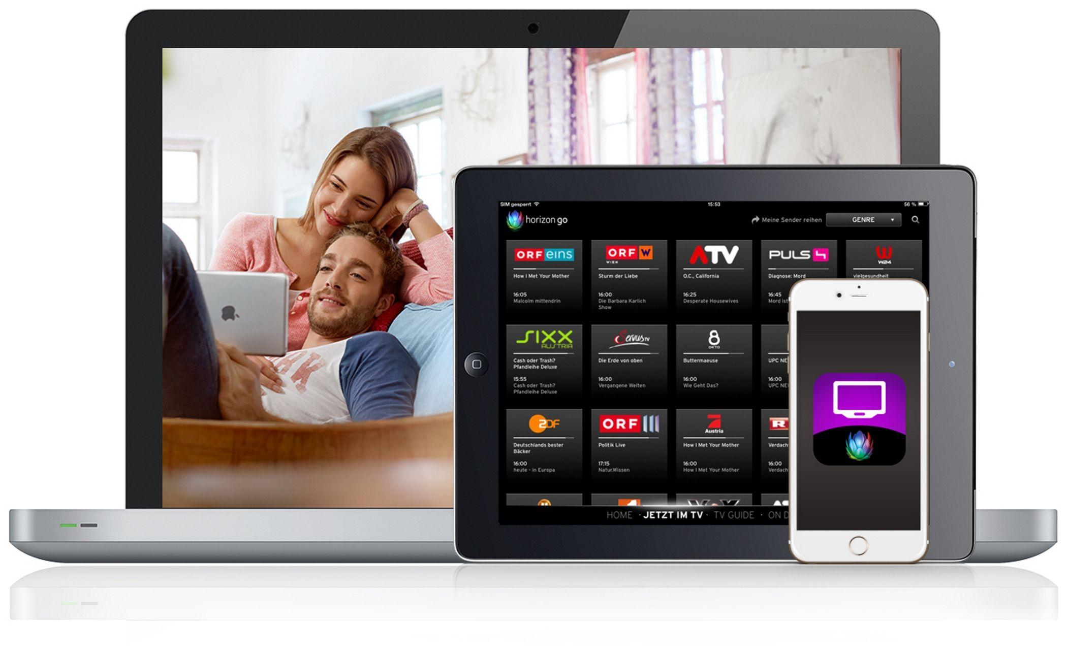 Replay TV ook op Horizon Go app van Ziggo | Broadband TV ...