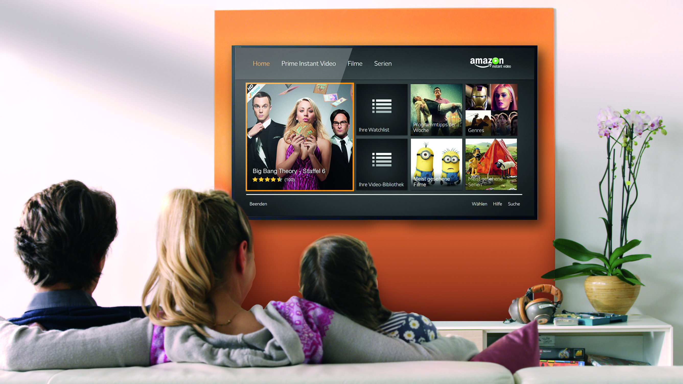 amazon launches ultra hd streaming in germany. Black Bedroom Furniture Sets. Home Design Ideas