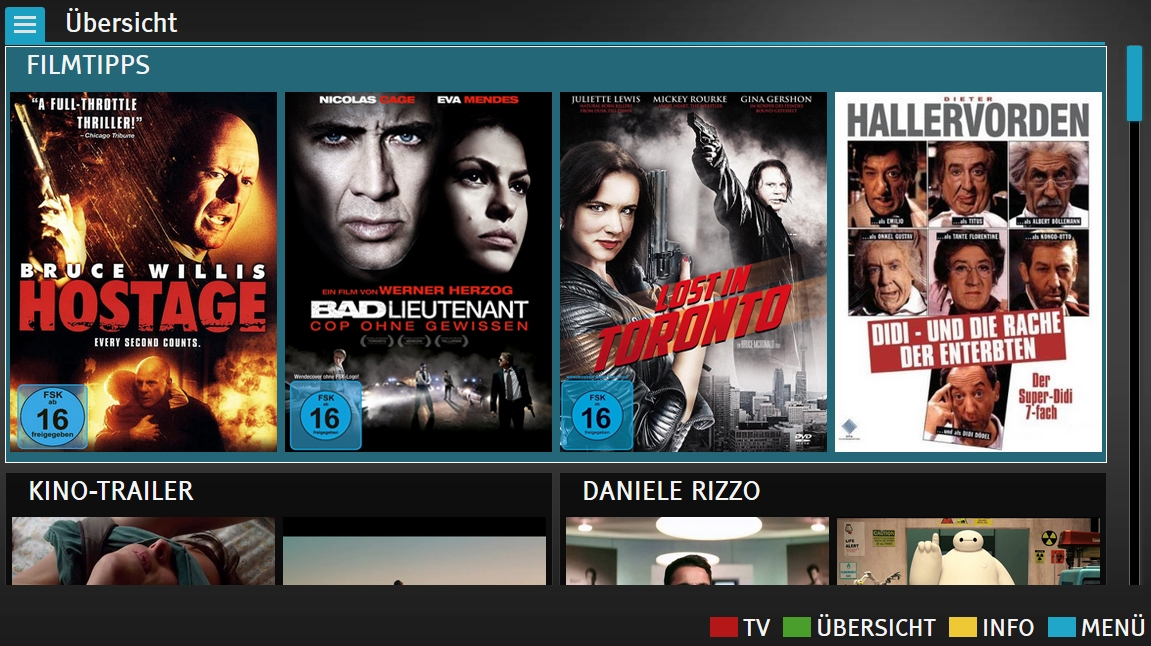 german rtl launches free vod via hbbtv. Black Bedroom Furniture Sets. Home Design Ideas