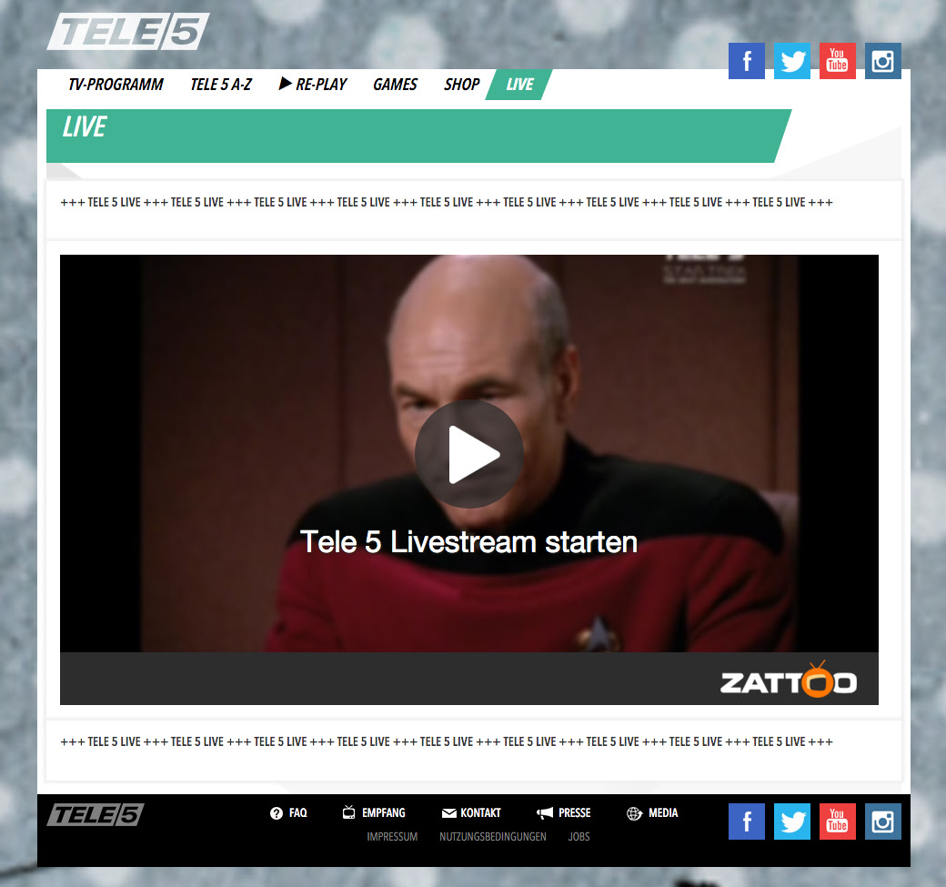 Tele 5 Live