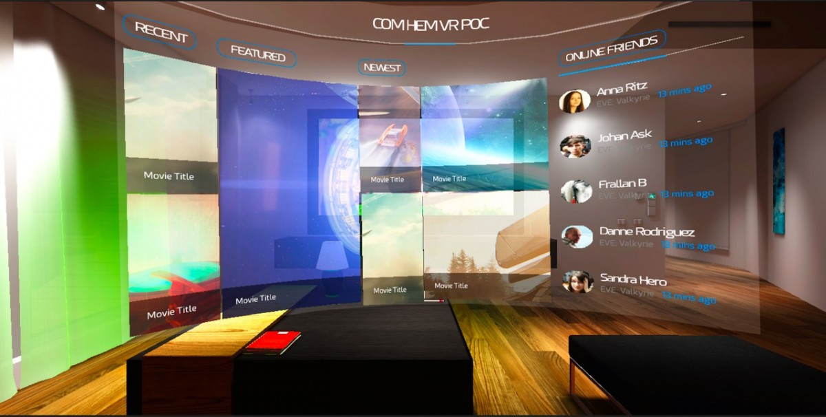 Com Hem Virtual Reality