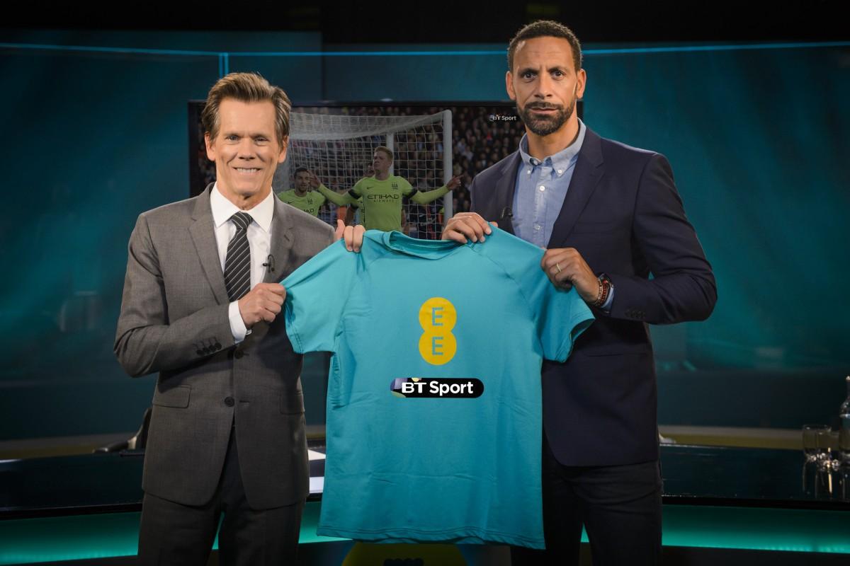 EE BT Sport - Rio Ferdinand & Kevin Bacon