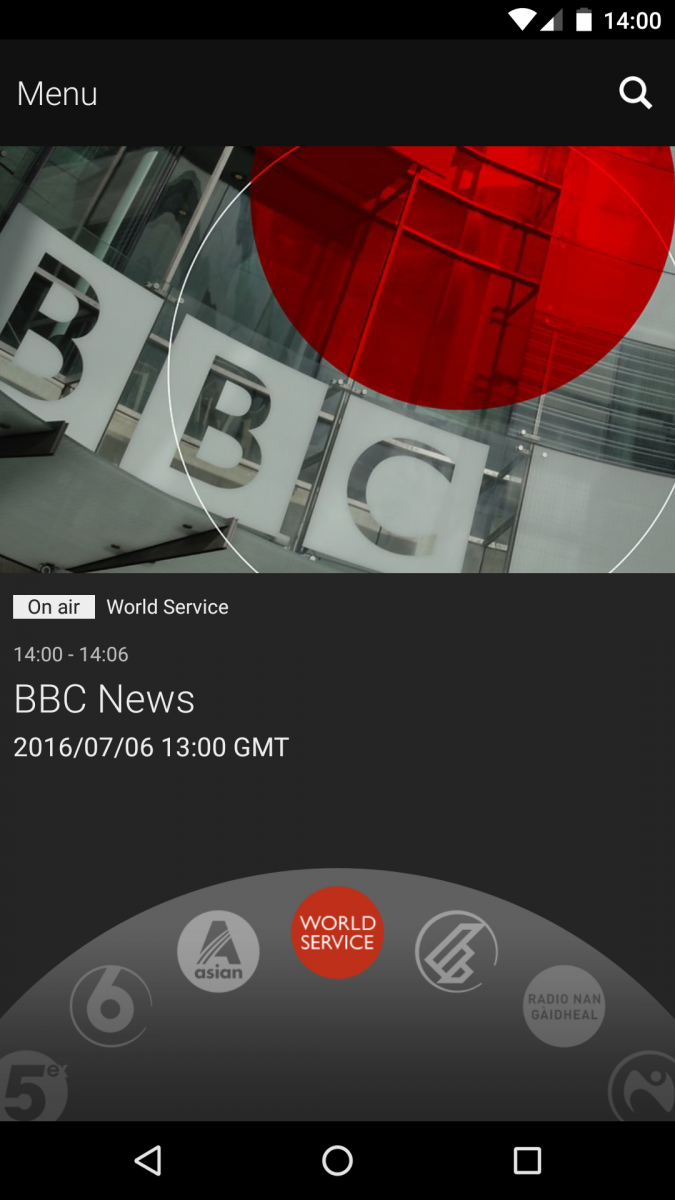 Phone - BBC Copyright