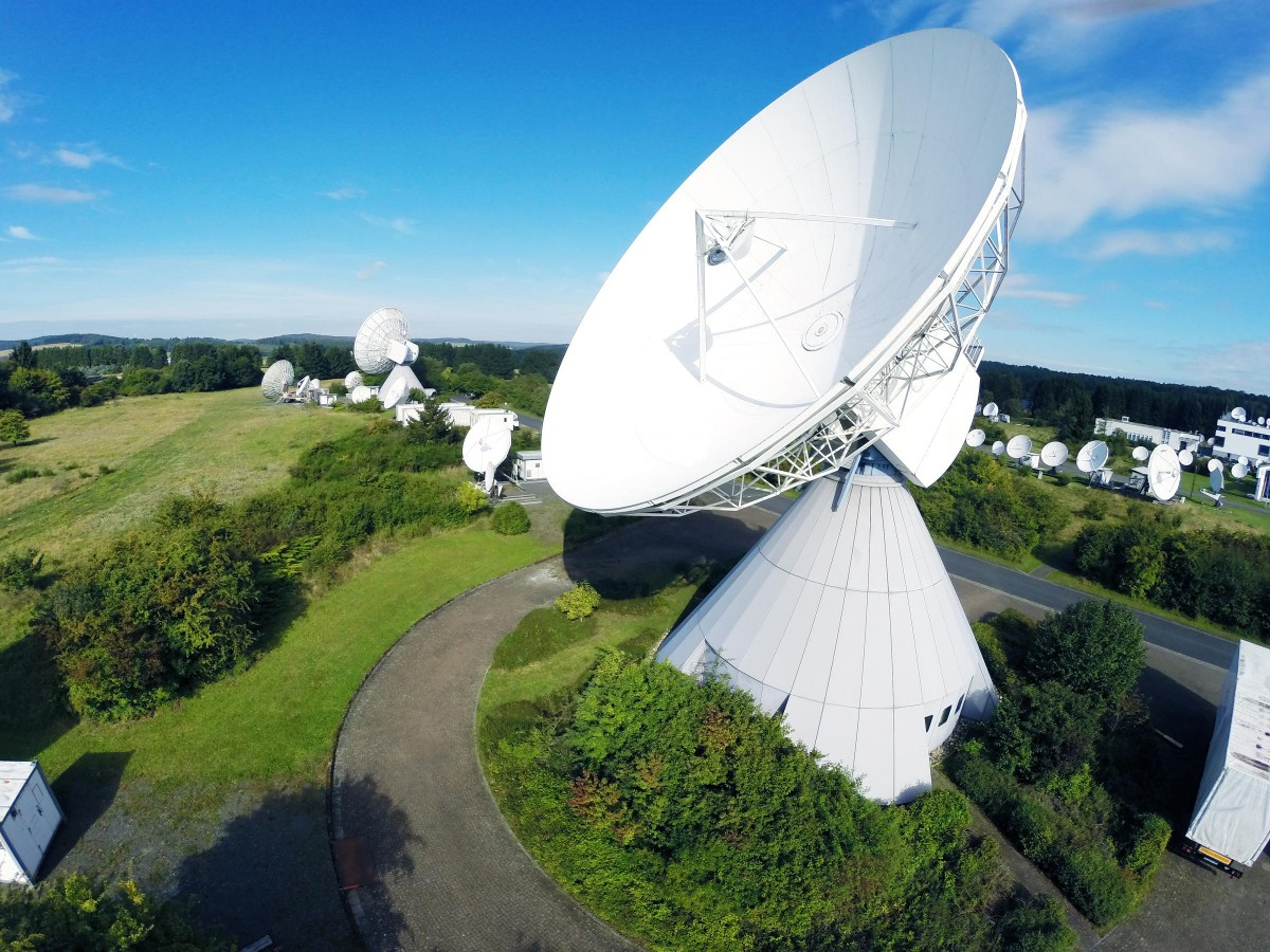 Teleport Usingen (Media Broadcast Satellite)