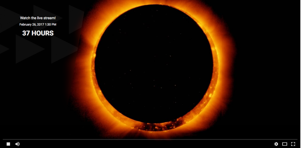 Ring Of Fire Eclipse Live Stream