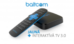 Baltcom launches interactive TV